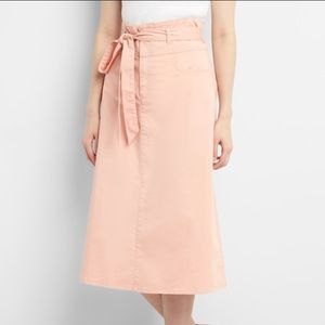 NWT! GAP paper bag midi skirt
